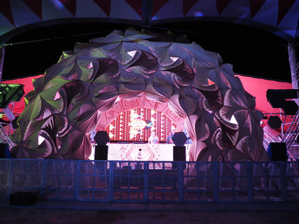 Sunset Stage Facade