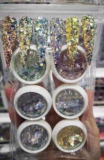 Glitter set (6pcs)