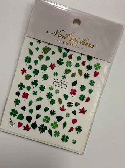 Lucky Leaves Decals