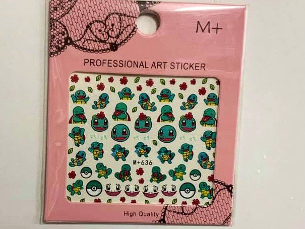 Squirtle Decals