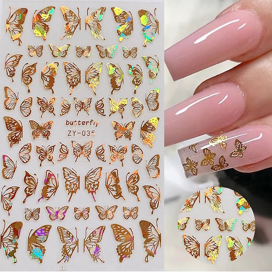 Holographic butterflies 035