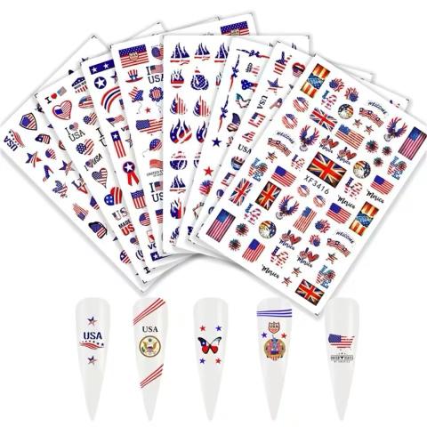 USA Decals Set (8pcs)