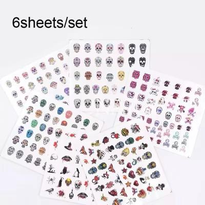 Skull Decals Set (6pcs)