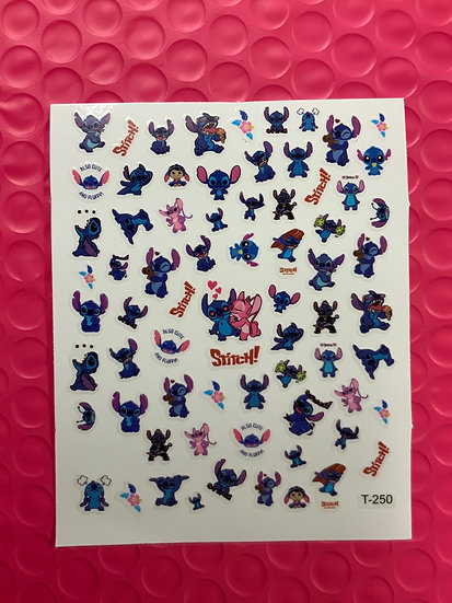 Stitch Decal