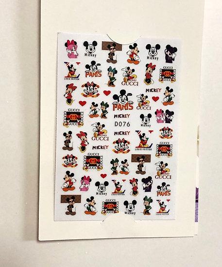 Mickey & Minnie with brands