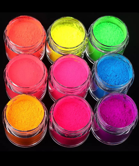 Neon Pigments (Set of 9)