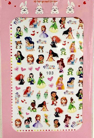 Disney Princesses Decals