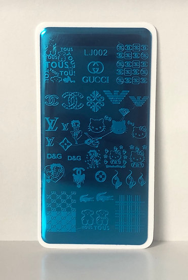 Hello kitty & brands stamping plate
