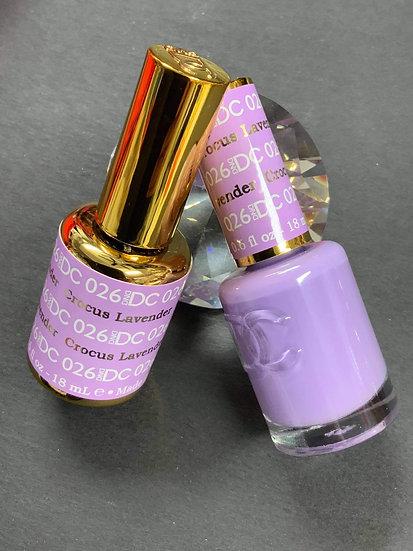 Crocus Lavender 026