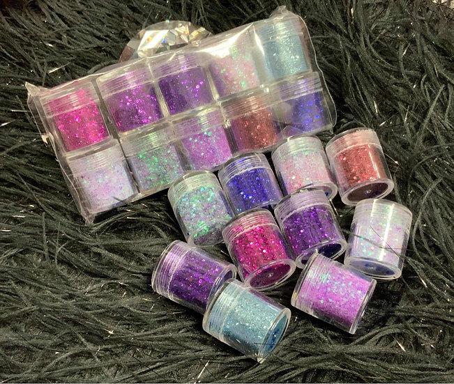 Glitters (Set of 10)