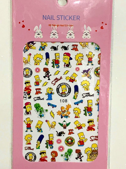 The Simpsons Decals
