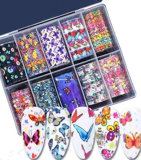 Butterflies Foil