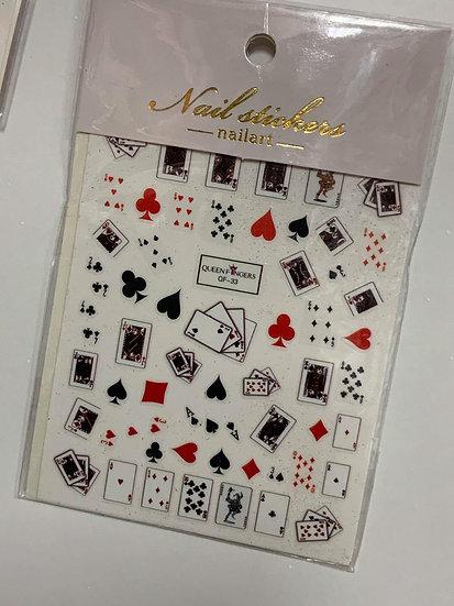 Poker Decals #3