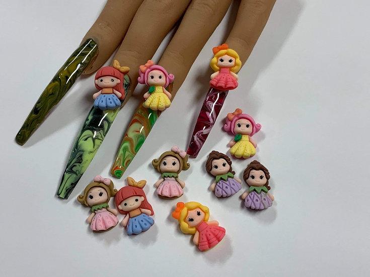 3D Resin Princess Babies