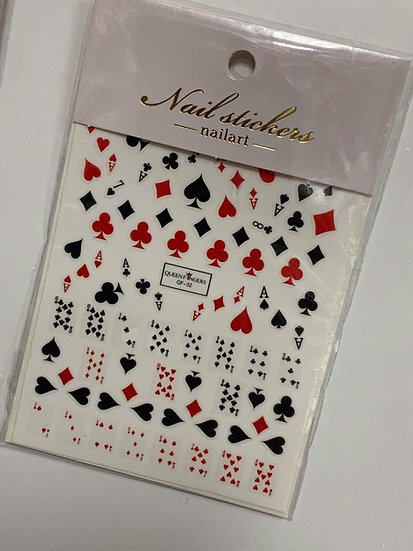 Poker Decals #2