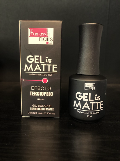 Gel is Matte Fantasy Nails