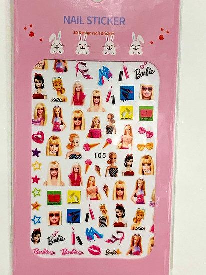Barbie Decals