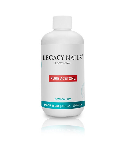 Legacy Nails Pure Acetone 8oz