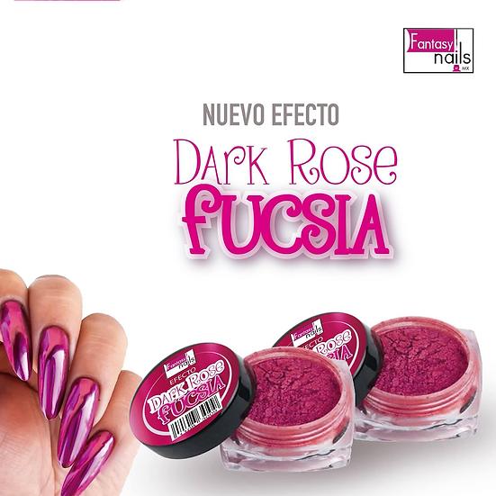 Dark Rose Fucsia Fantasy Nails