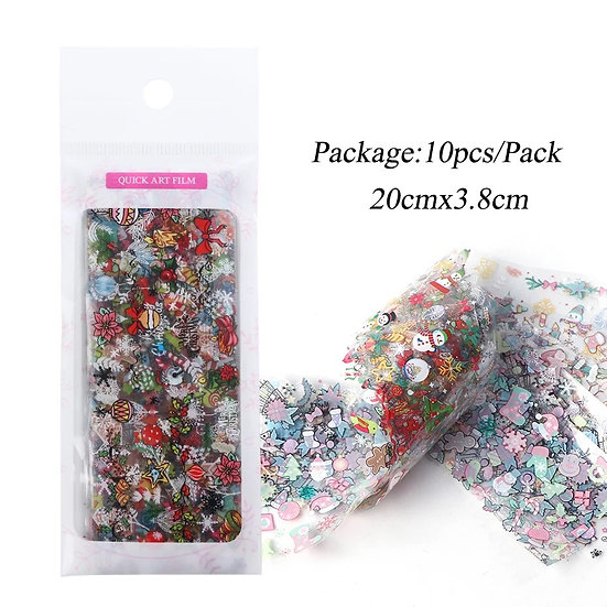 Christmas Foils Bag (10pcs)