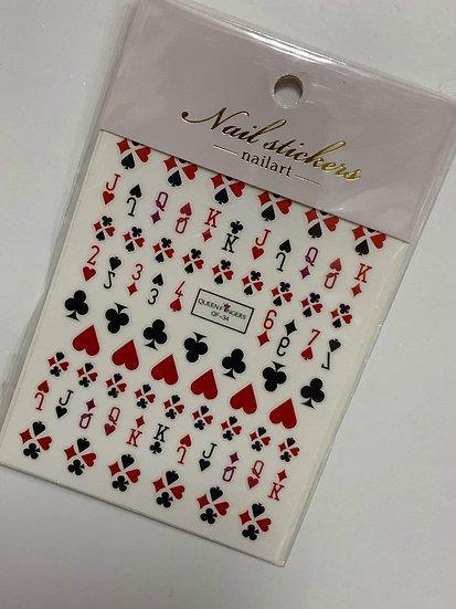 Poker Decals #1