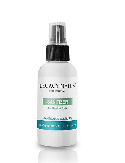 Legacy Nails Sanitizer 4oz