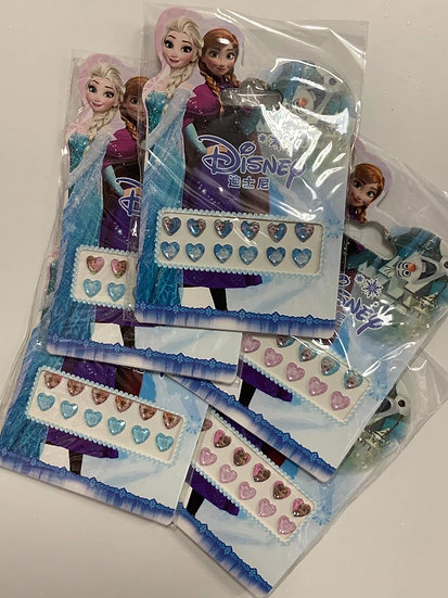 Frozen 3D Hearts Pack