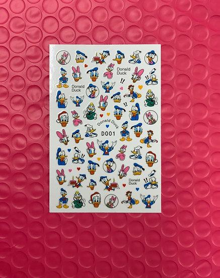 Daisy & Donald Duck