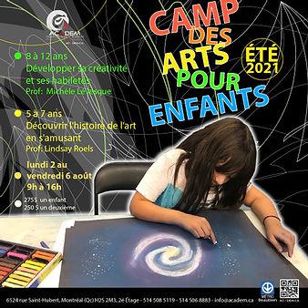 Camps d'arts pour Enfants / Academ 2021
