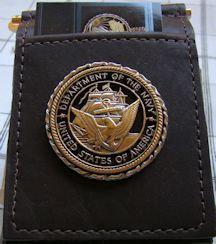 US Navy Challenge Coin Buffalo Money Clip