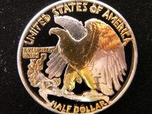 Walking Liberty Eagle Half Dollar Pendant