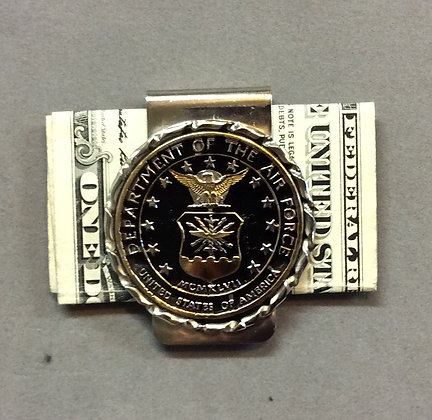 US Air Force Challenge Coin Money Clip