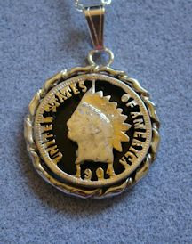 Indian Head Penny Pendant