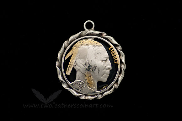 Indian Head Nickel Pendant