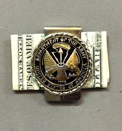 US Army Challenge Coin Money Clip