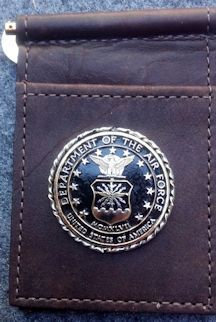 US Air Force Challenge Coin Buffalo Money Clip