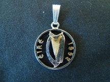 Ireland Coin Pendant