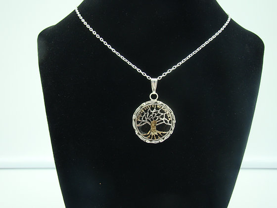 Tree of Life U.S. Quarter Pendant