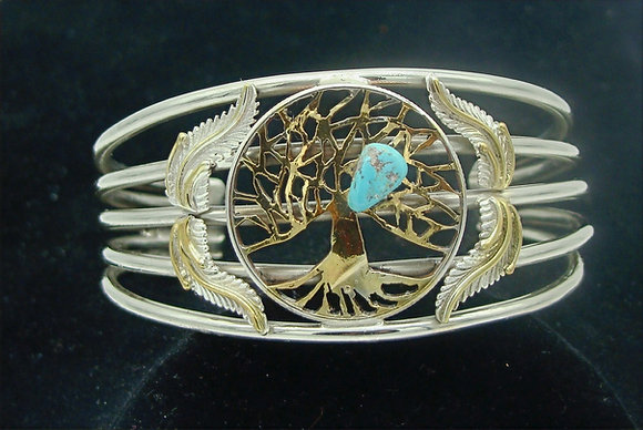 Tree of Life Half Dollar Bracelet