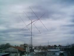 ANTENA QUAD 28 MHz.