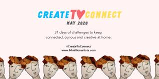 Challenge your everyday creativity with #CreateToConnect