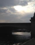 Contre jour du Pont du Carrousel, Paris, 2017