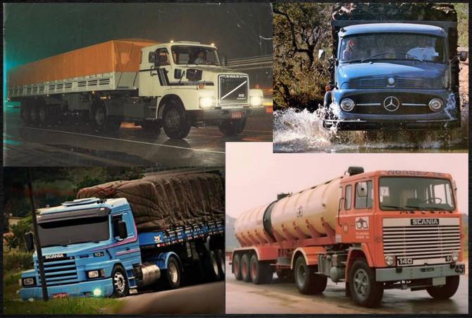 TOP 10: Caminhões mais marcantes na história do Brasil. Vídeo só com as Lendas das Estradas!