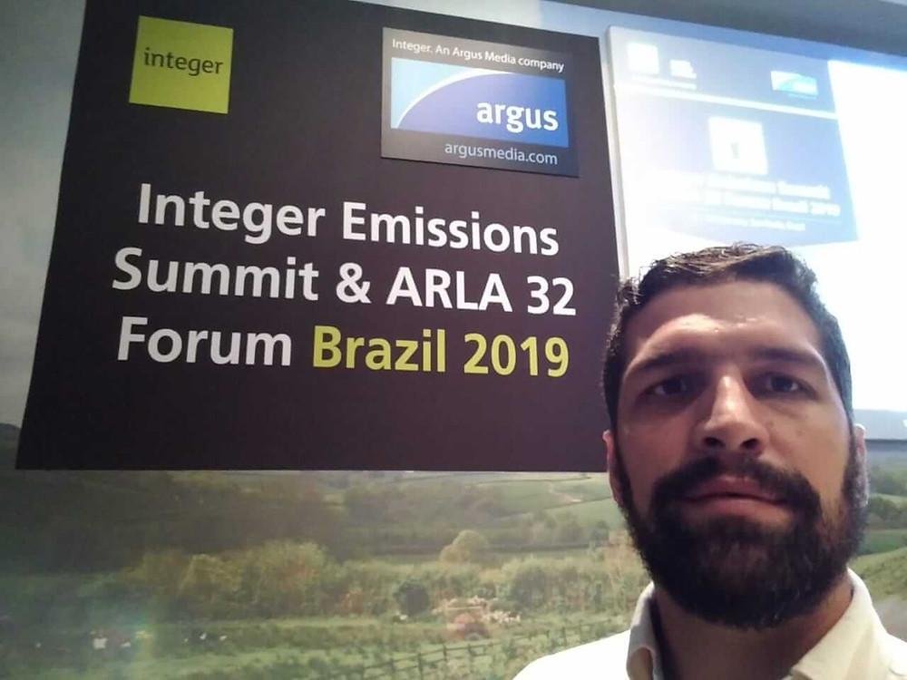 Integer Emissions Summit & Arla 32 Forum Brazil