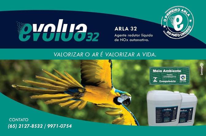 Evolua 32 é referência em suporte e fornecimento de Arla 32 para o Mato Grosso