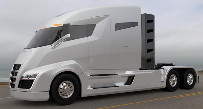 Empresa apresenta projeto de caminhão híbrido com autonomia de mais de 1900 km