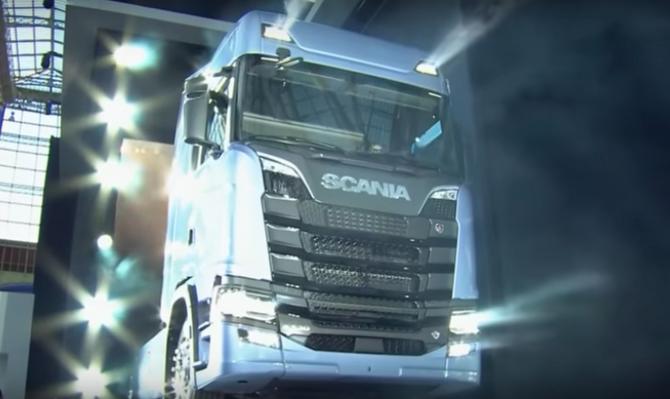Scania revela sua nova geração de caminhões