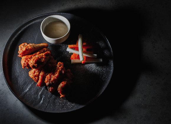 Куриные крылья BBQ