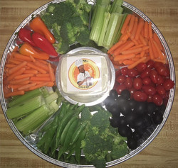 Veggie tray - Las Vegas based cateri