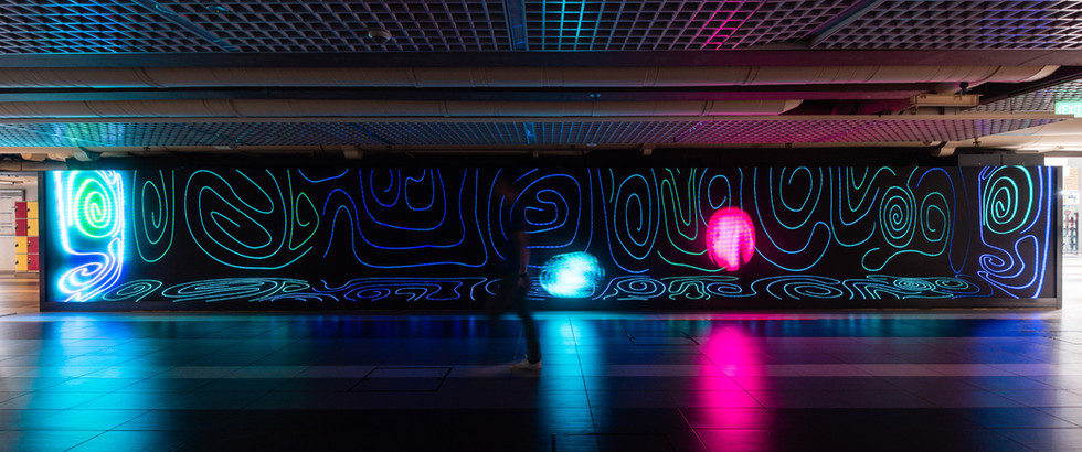 Neon Lines by Jelena Moench and Eli Rix